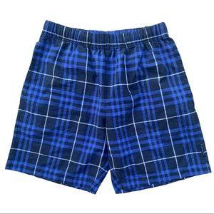 Burberry London Plaid Shorts Size Small